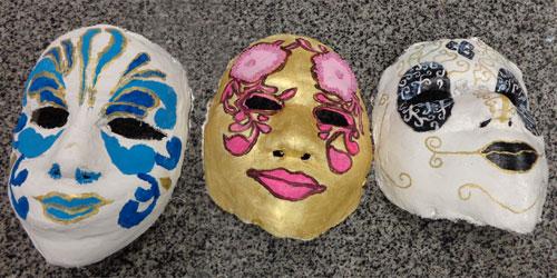 máscaras venezianas colégio agostiniano são josé