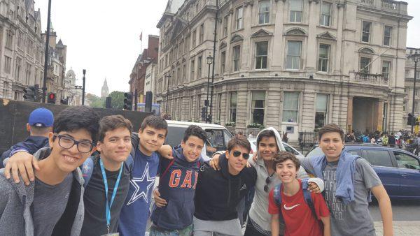 40 Londres - Trafalgar Square