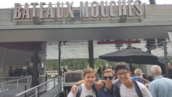 50 Paris - Bateaux-Mouches - Rio Sena
