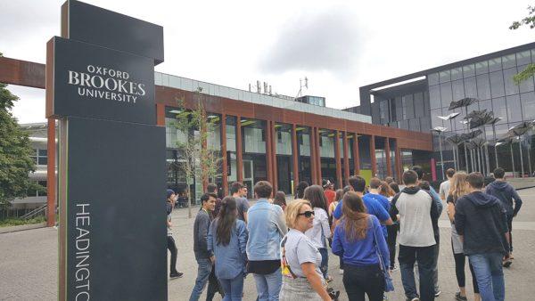 03 Oxford - Brookes University - Chegada