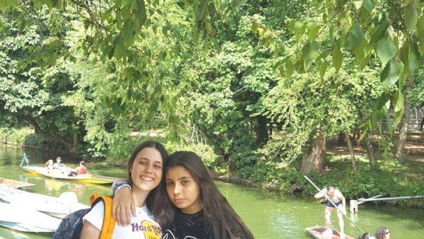 21 Oxford - Oxford Botanical Gardens & River Punting