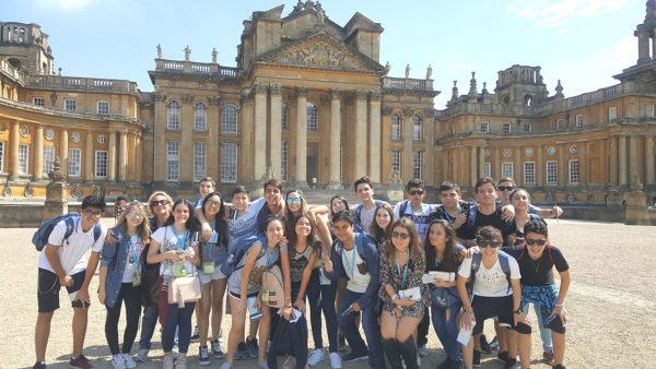25 Oxfordshire - Blenheim Palace Historic House and Gardens in Woodstock