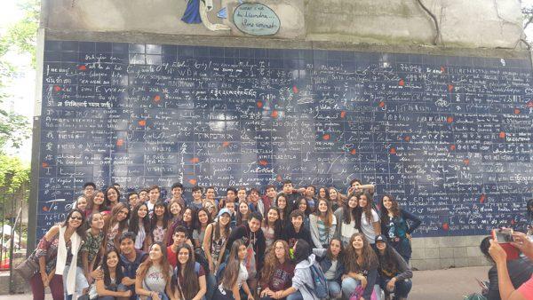 58 Paris - Muro dos Eu te amo ou Le mur des je t'aime